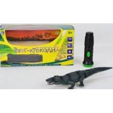 Робот-Крокодил с ИК пультом.